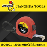 ABS measuring tape with elastic painting