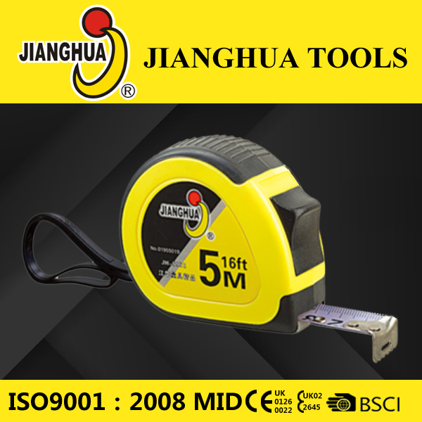 Rubber coated measuring tape