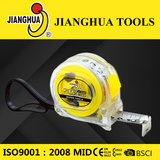 Transparent measuring tape